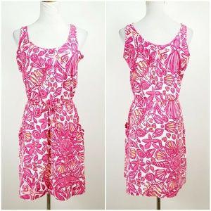 Lilly Pulitzer S Kori Chum Bucket Drawstring Dress